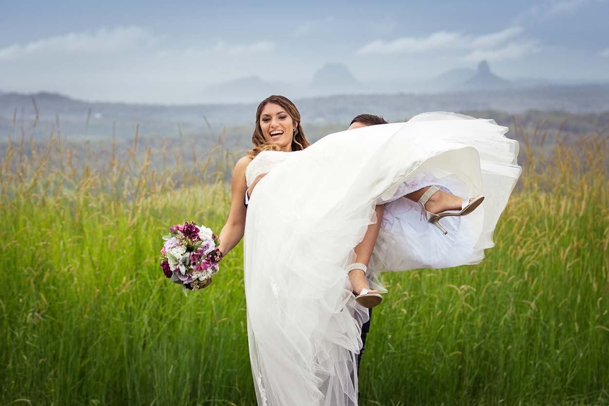 Hinterland Wedding , Maleny - Sunshine Coast, Queensland, Australian Photographer