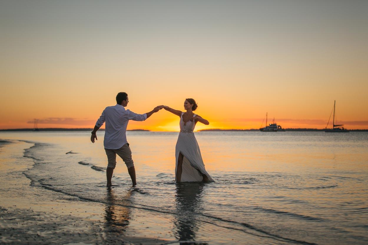 Noosa Wedding First Dance - Sunshine Coast, Queensland, Australian Destination Photographer