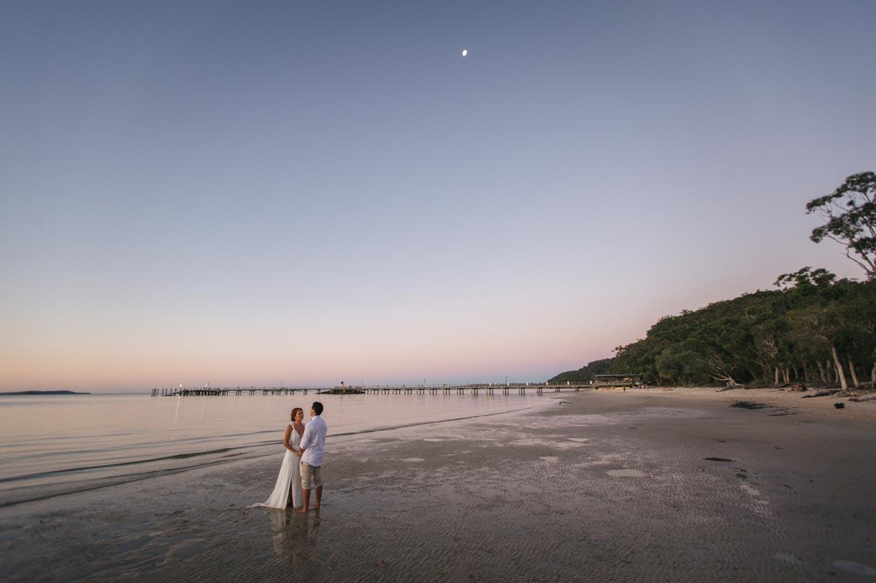 Sunset Beach, Fraser Island Wedding - Sunshine Coast, Queensland, Australian Destination Photographer