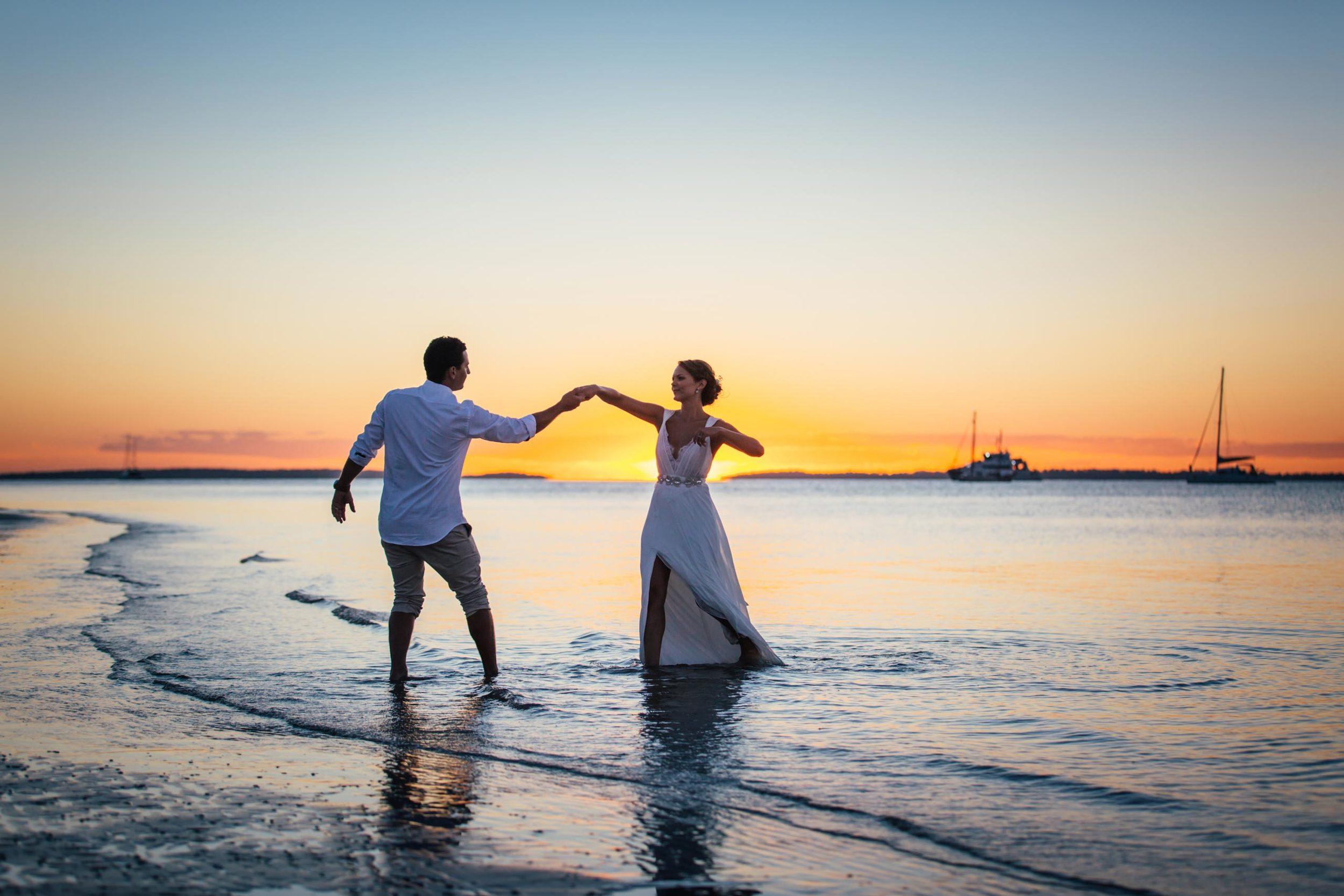 Hervey Bay, Fraser Island Destination Wedding - Noosa, Sunshine Coast, Queensland, Australian Elopement Photographers