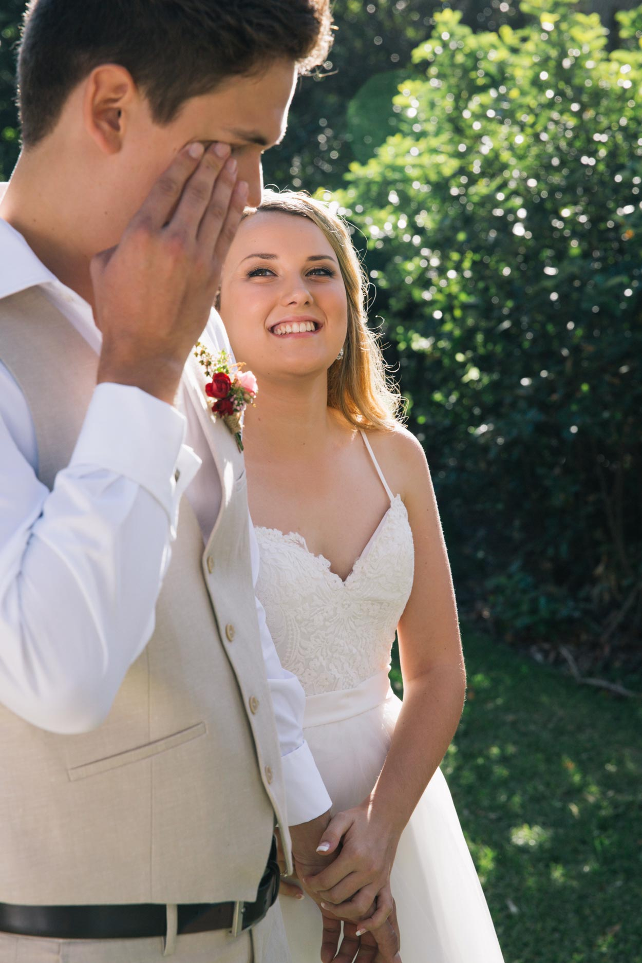 Emotional Hidden Grove Wedding - Sunshine Coast, Australian Photographer (Noosa)