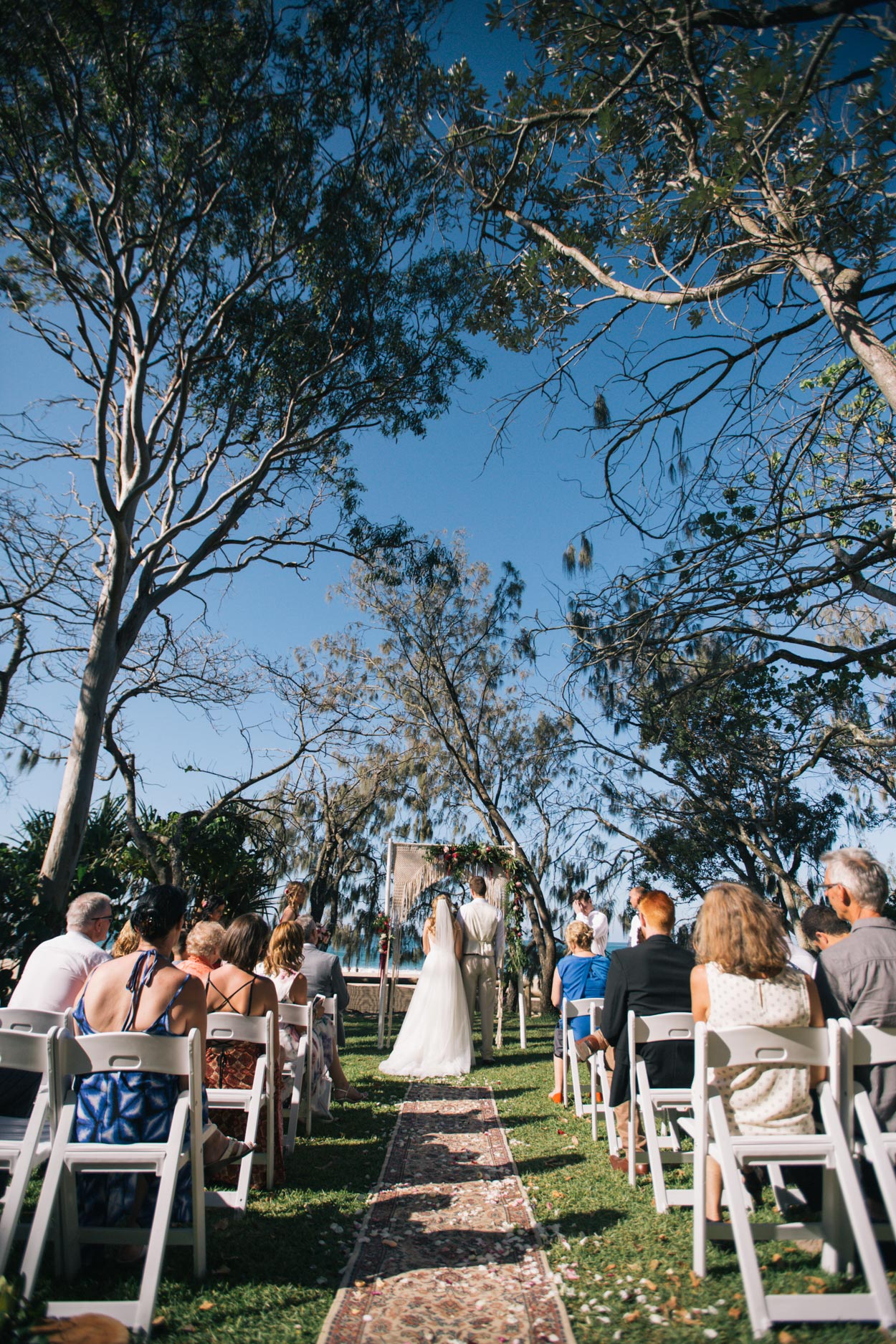 Wedding Ceremony, Hidden Grove Noosa - Sunshine Coast, Australian Photographers