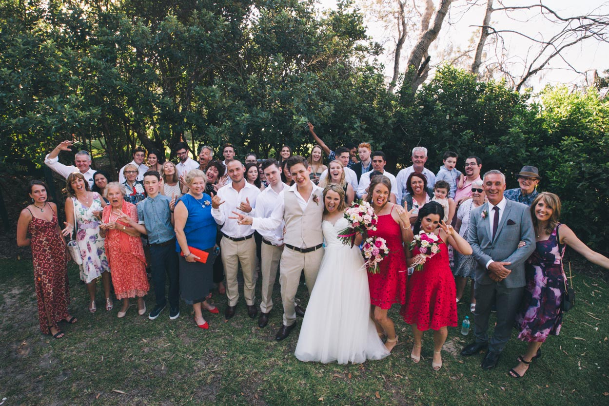 Family Noosa Beach Wedding - Sunshine Coast, Queensland, Destination Australian Photographers