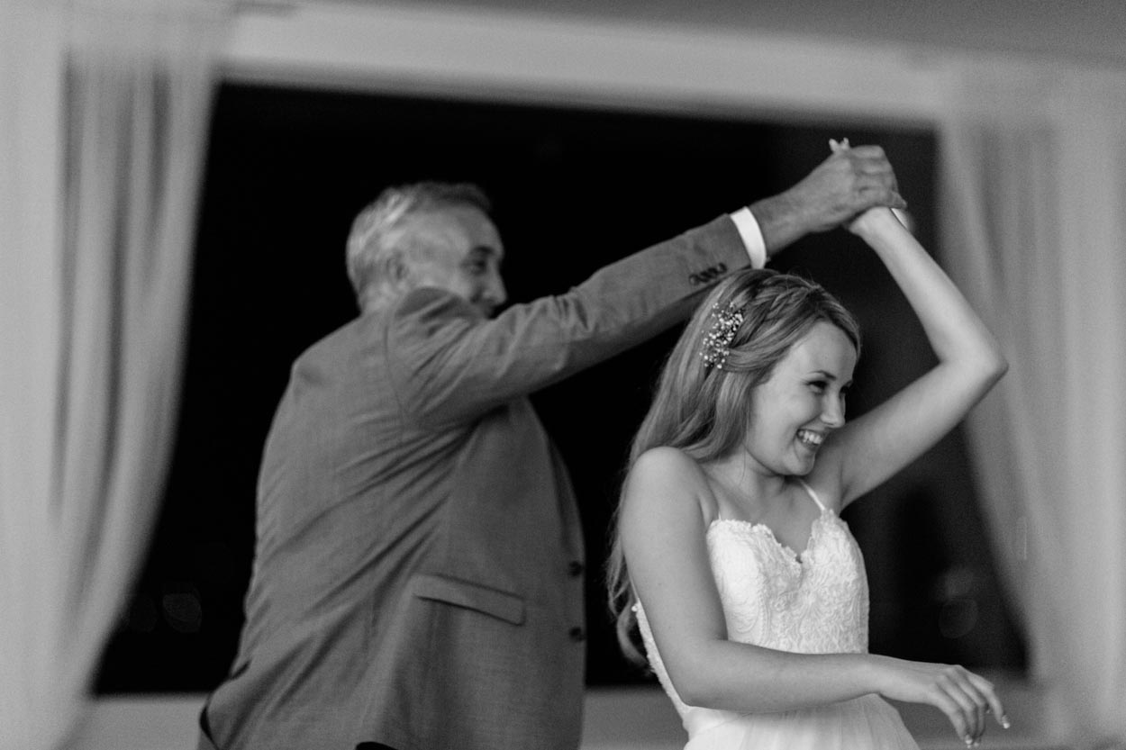 Noosa Boathouse Wedding Dance - Sunshine Coast, Queensland, Destination Australian Photographer