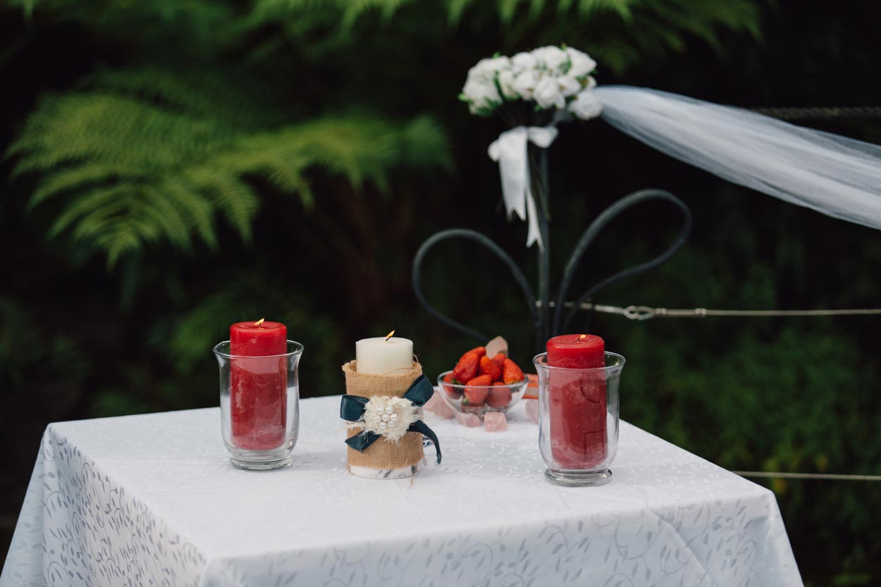 Candle Ceremony, Brisbane Pre Wedding Photographer - Maleny, Sunshine Coast, Australian Elopement