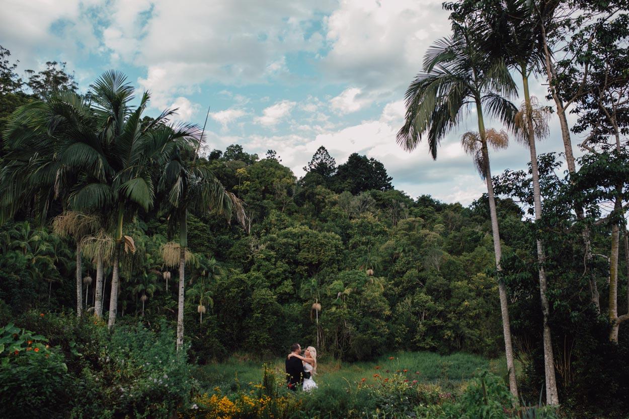 Australian Hinterland Destination Pre Wedding - Sunshine Coast, Brisbane Elopement Packages