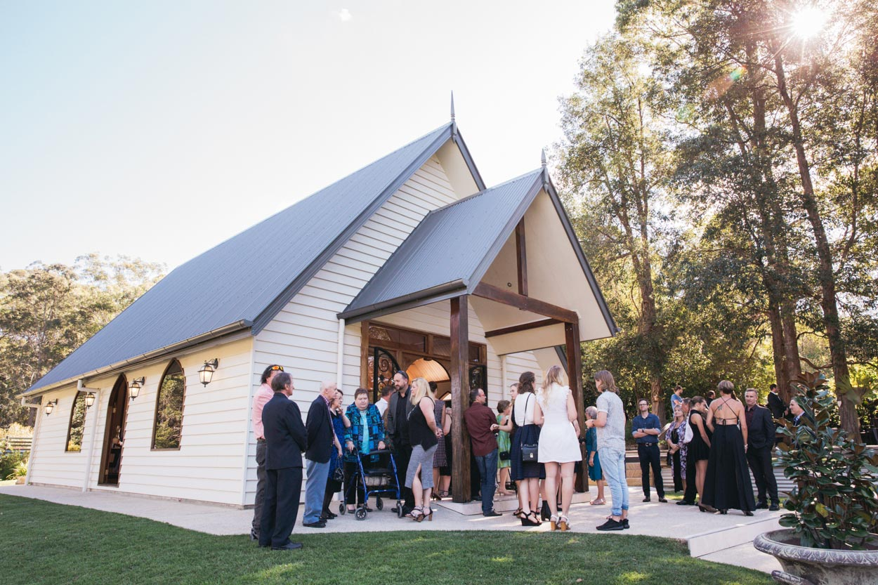 Annabella Chapel, Ilkley, Sunshine Coast Wedding Destination - Brisbane, Queensland, Australian Elopement