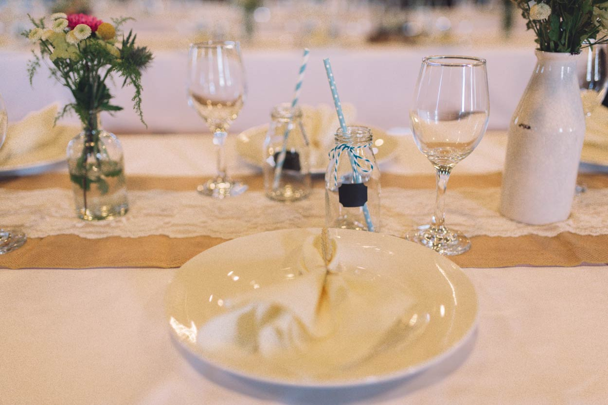 Reception Table Styling, Noosa Destination Pre Wedding - Brisbane & Sunshine Coast, Australian Elopement Photographers