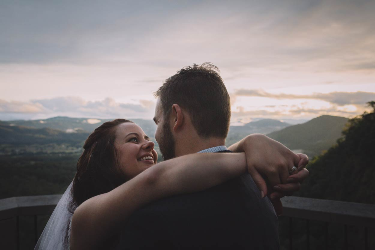 Mapleton Falls Lookout, Sunshine Coast Pre Wedding Portraits - Australian Destination Photographer, Brisbane