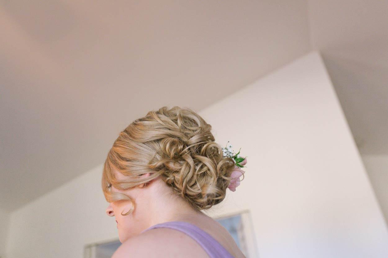 Sunshine Coast, Brisbane Bridal Wedding Hair - Yandina Station, Australian Destination Accomodation