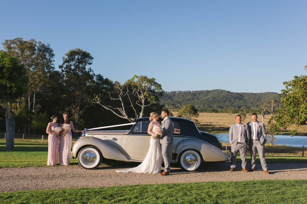 Berti the Bentley, Yandina Station, Queensland Wedding - Brisbane, Sunshine Coast, AUstralian