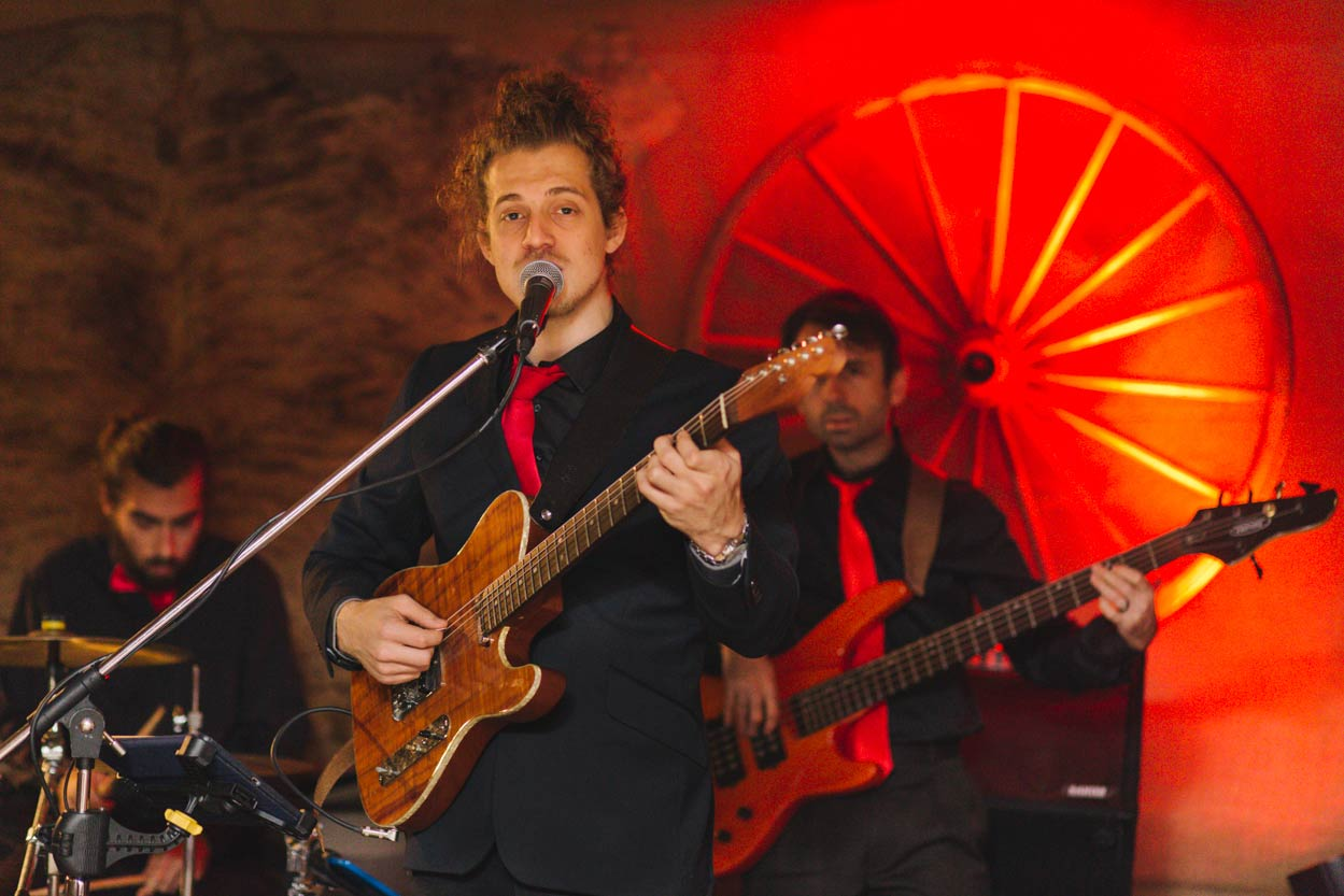Wedding Band, Yandina Station, Sunshine Coast - Brisbane, Australian Destination Elopement