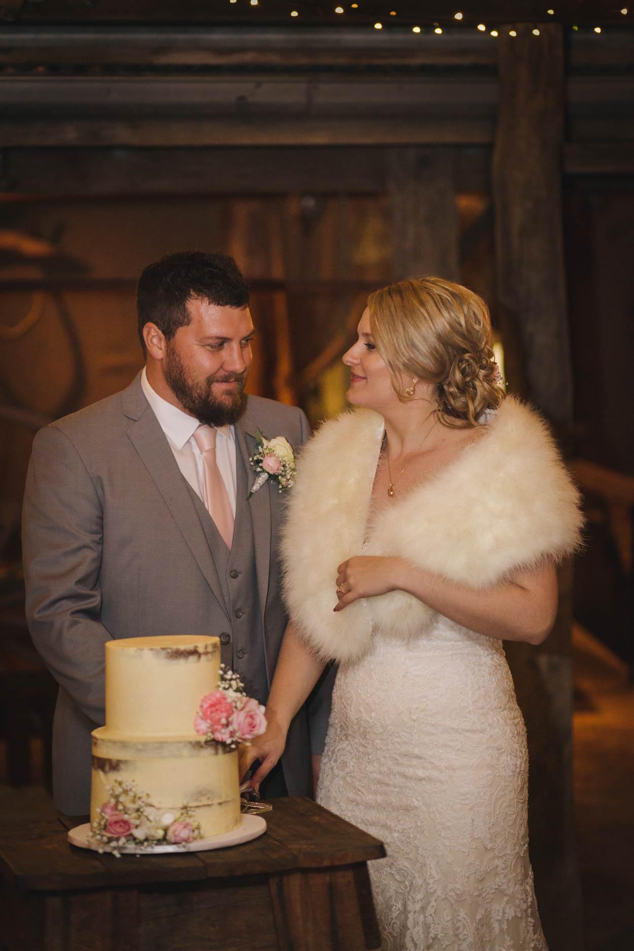 Cake Cutting, Yandina Station, Sunshine Coast - Flaxton, Queensland, Australian Destination Wedding