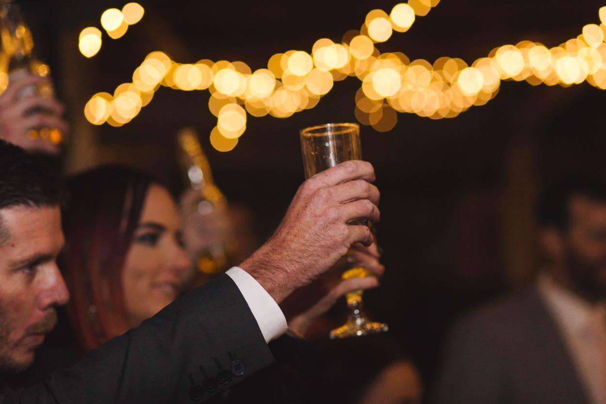 Yandina Station Reception Cheers, Sunshine Coast Wedding - Brisbane Destination, AUstralian Photographer