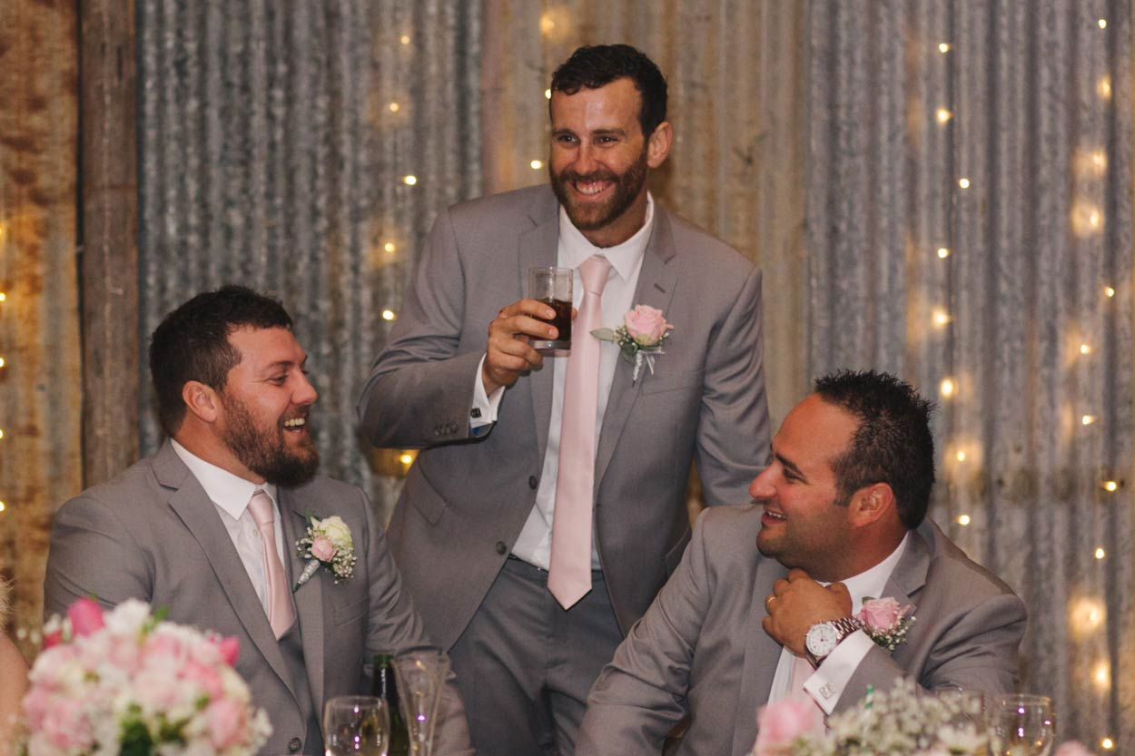 Happy Wedding Party, Yandina Station - Sunshine Coast, Brisbane, Australian Destination Photographers