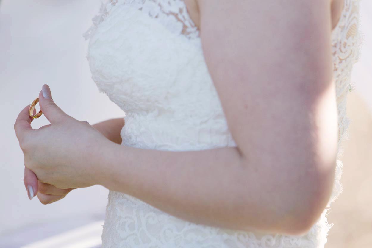 Ring Ceremony, Noosa Heads, Sunshine Coast Wedding - Brisbane, Australian Pre Destination Photographers