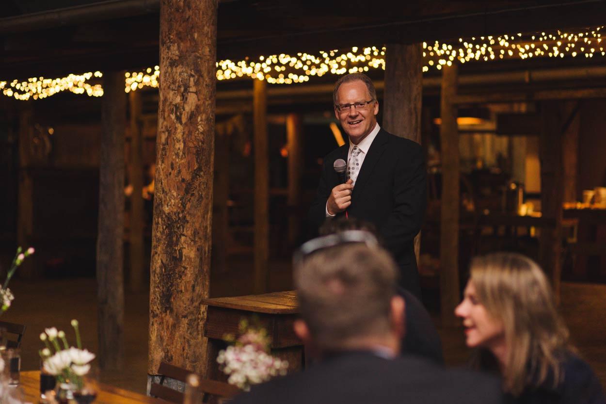 Groom Father Speech, Yandina Station - Sunshine Coast, Brisbane, Australian Destination Wedding Photographer
