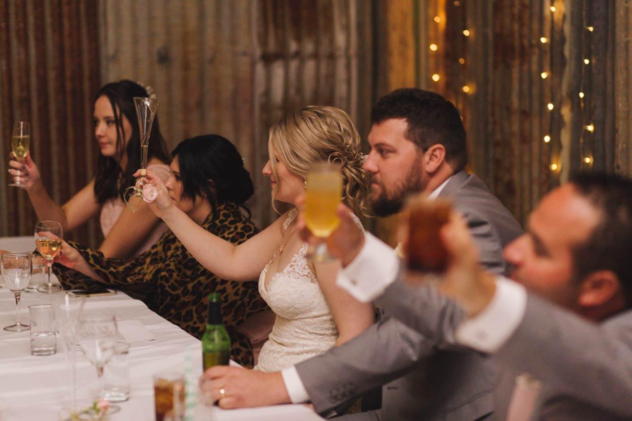 Wedding Toast, Maleny, Sunshine Coast - Brisbane, Queenlsland, Australian Pre Destination Photographers