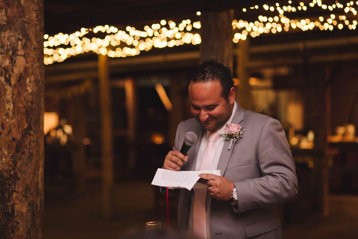 Best Man Wedding Speech, Yandina Station, Sunshine Coast - Destination Brisbane, Australian Photographer