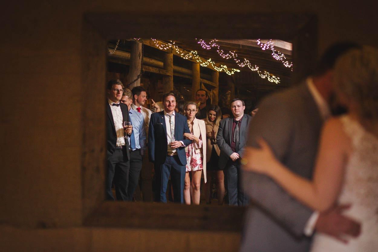 First Dance, Wedding Audience, Sunshine Coast - Brisbane, Yandina Station, Australian Elopement