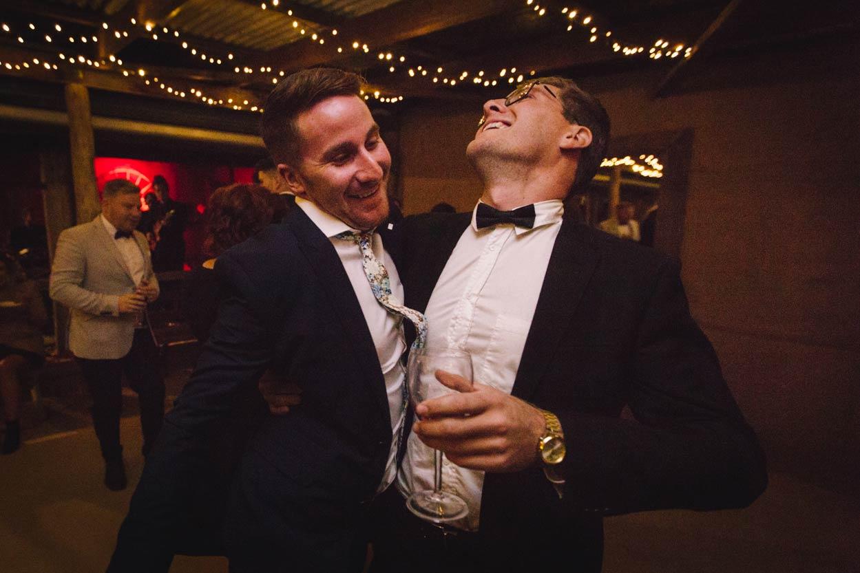 Dancefloor Fun at Yandina Station, Sunshine Coast - Brisbane, Australian Destination Wedding Photographers