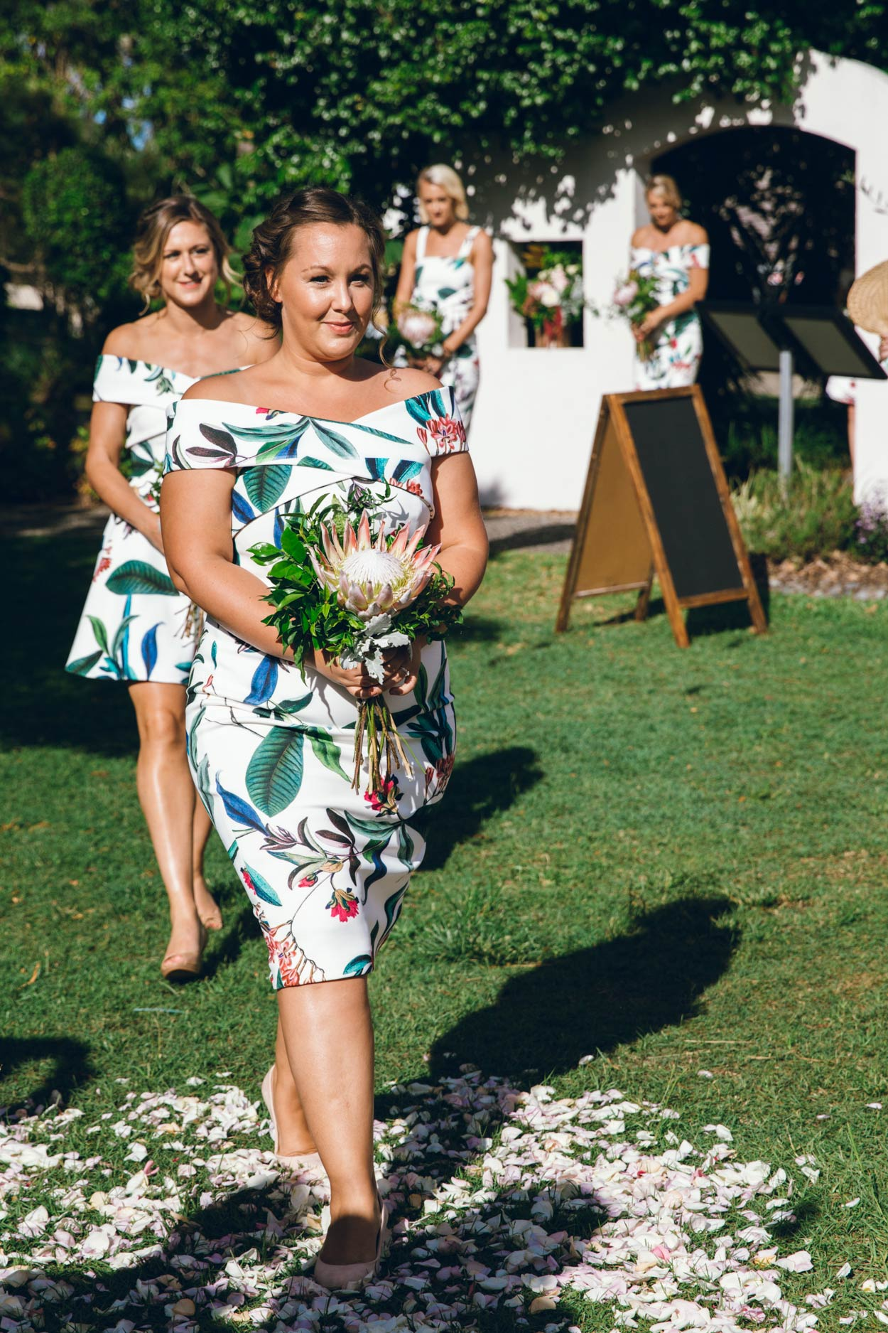Gorgeous Noosa Bridesmaids, Sunshine Coast, Queensland - Destination Brisbane, Australian Pre Wedding Elopement