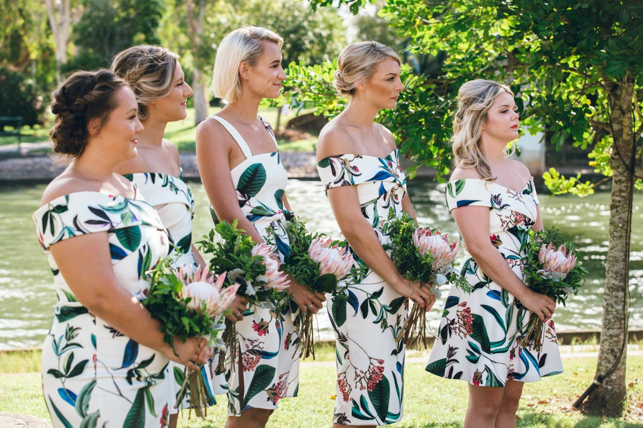 Noosa Waterfront Bridesmaids, Sunshine Coast - Brisbane, Queensland, Australian Destination Wedding Photographers
