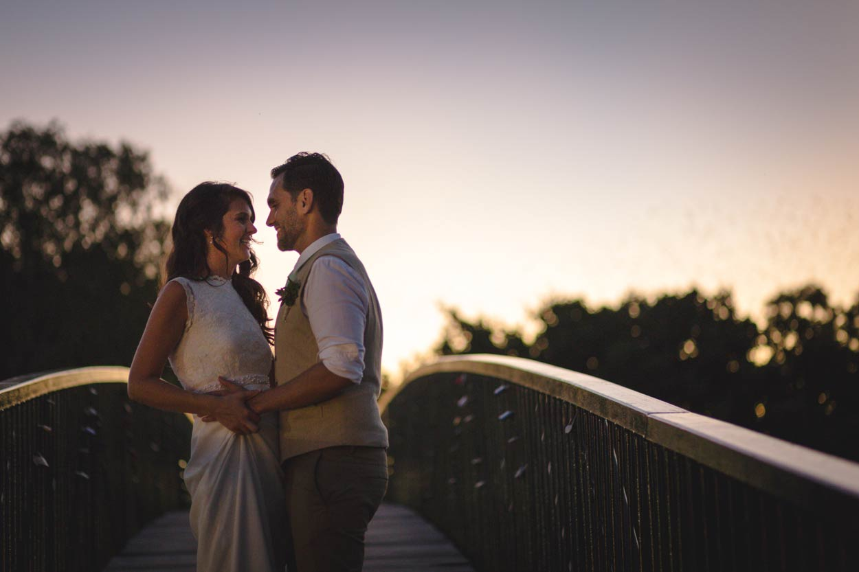 Noosa Waterfront Bridge Photography, Sunshine Coast - Brisbane, Australian Elopement Wedding Blog Photographer