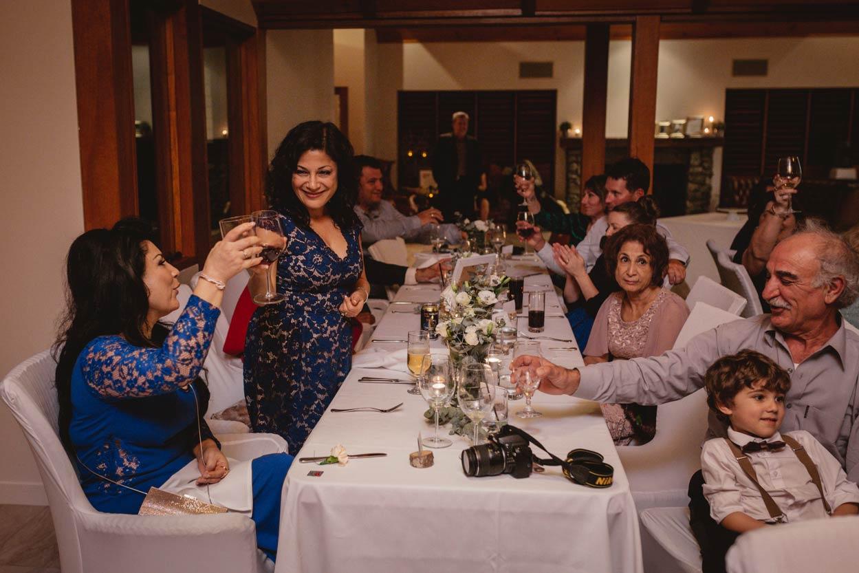 Gold Coast Pre Wedding Toast, Peppers Ruffles Lodge Reception - Brisbane, Australian Elopement