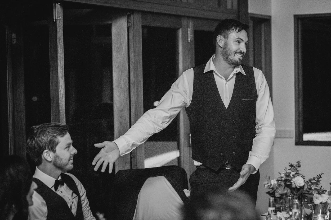 Best Man Speech, Gold Coast, Peppers Ruffles Lodge Destination Wedding Photographers - Brisbane, Australian