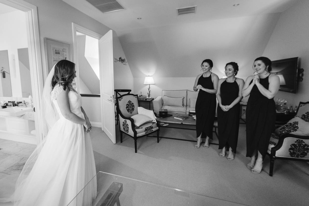 Brides First Look, Montville Spicers Clovelly Destination Wedding Blog Photographers - Sunshine Coast