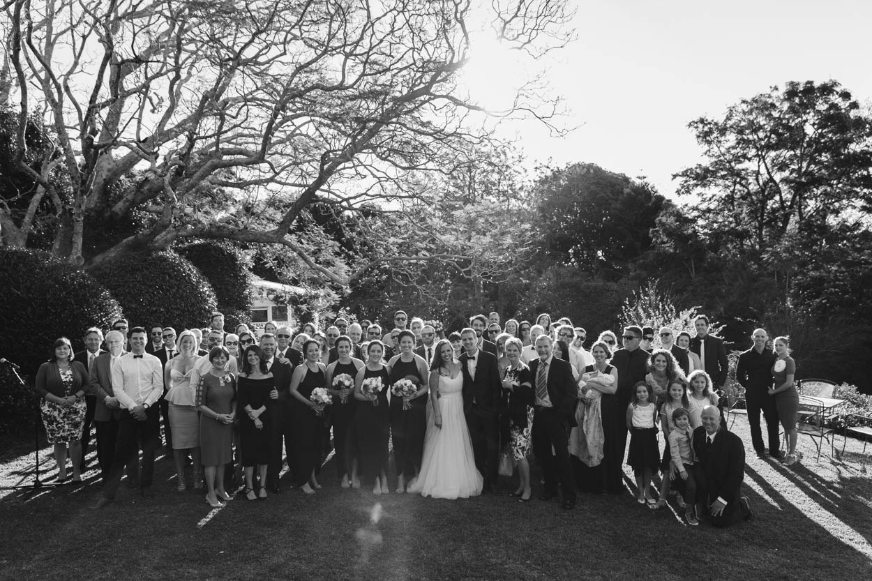 Jacaranda Tree Group Wedding Portrait, Spicers Clovelly Montville - Brisbane, Sunshine Coast, Australian