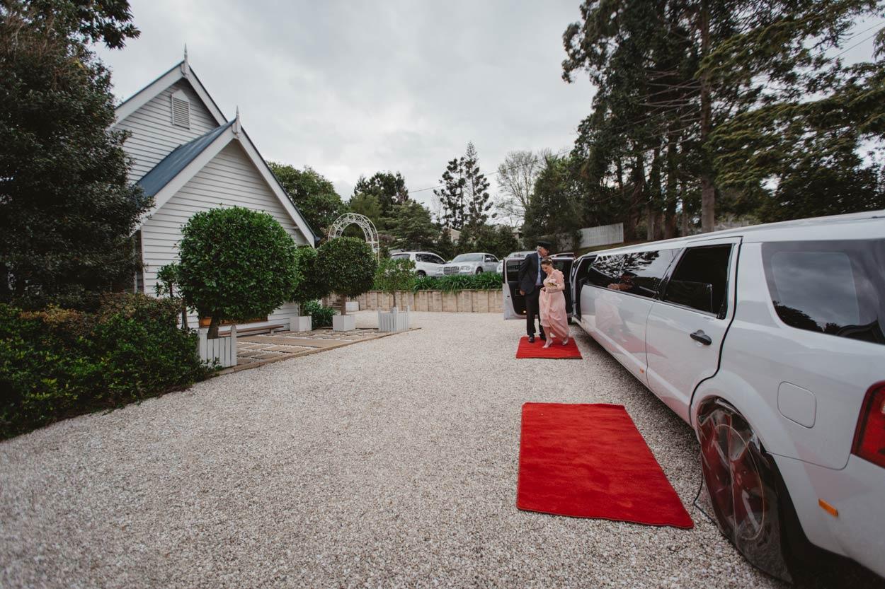 Little White Wedding Church, Maleny Limousine - Sunshine Coast, Brisbane, Australian Destination