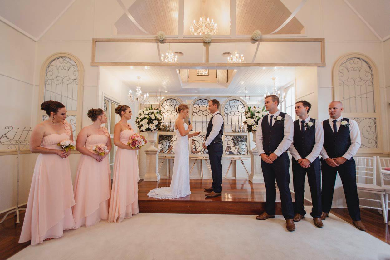 Fine Art Little White Wedding Church Destination Photographer - Maleny, Sunshine Coast, Australian