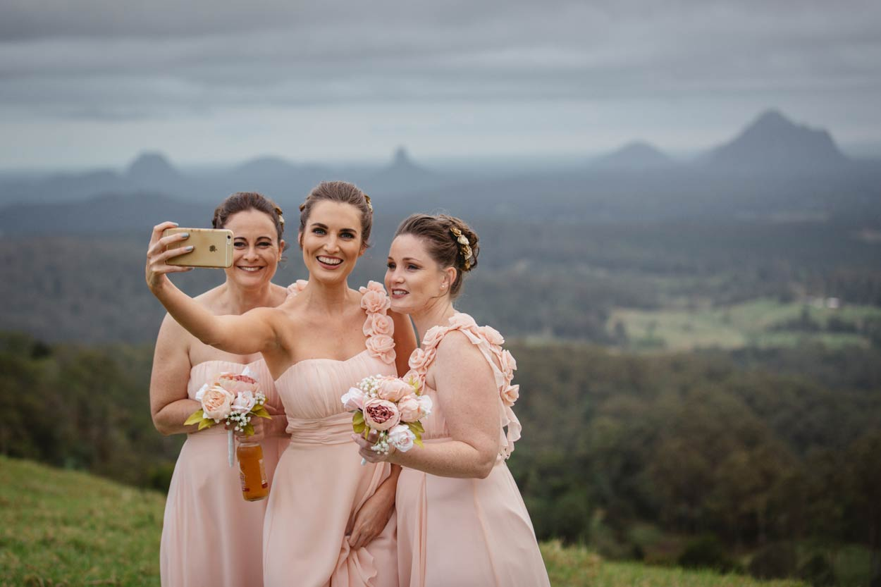 Glasshouse Mountains, Maleny Pre Destination Wedding Photographers - Brisbane, Sunshine Coast, Australian