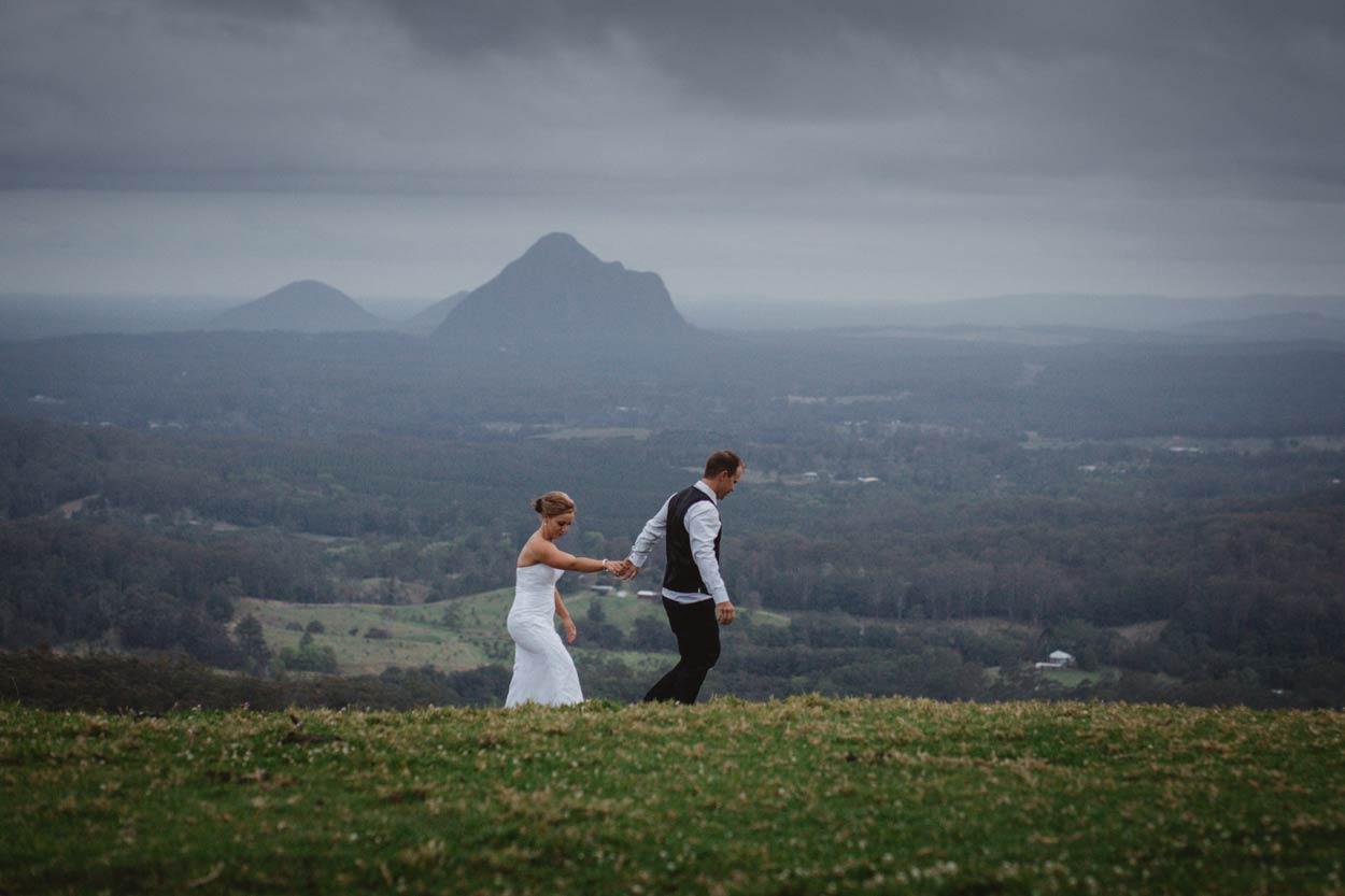 Peachester, Glasshouse Mountains Destination Wedding Photographer - Brisbane, Sunshine Coast, Australian