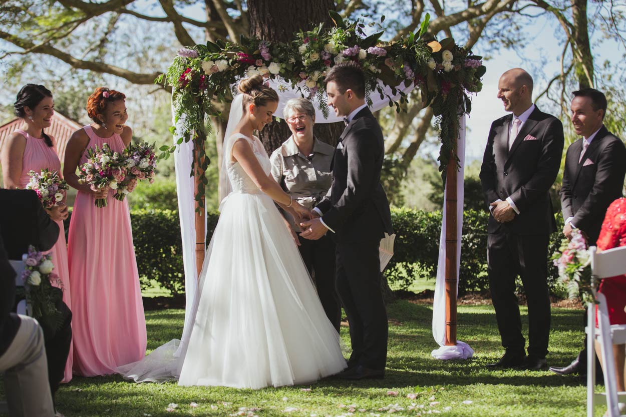 Stunning Gabbinbar Homestead Wedding Ceremony - Brisbane, Sunshine Coast, Australian Packages
