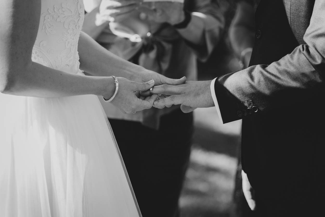 Exchanging Rings, Gabbinbar Homestead Wedding Photographers - Brisbane, Sunshine Coast, Australian