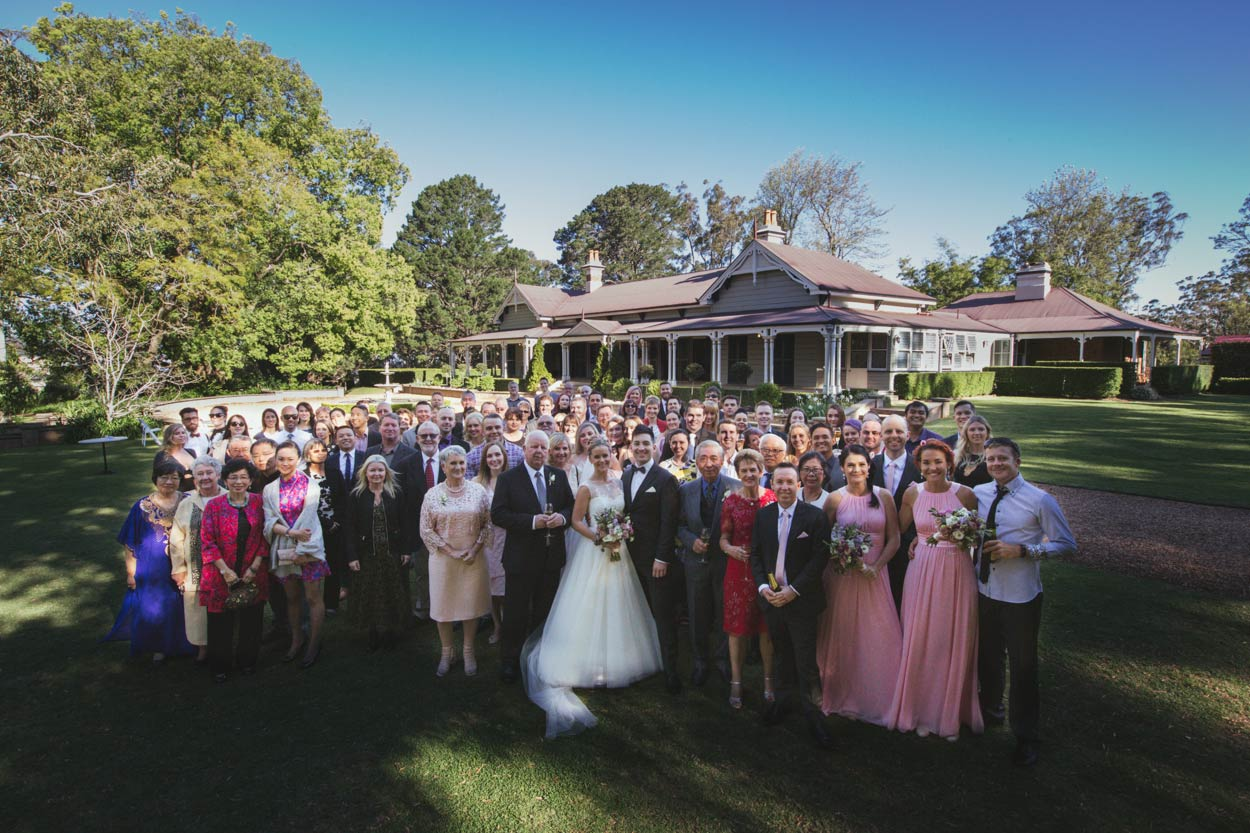 Gabbinbar Homestead Group Wedding Guest Photo - Sunshine Coast, Brisbane, Australian Destination