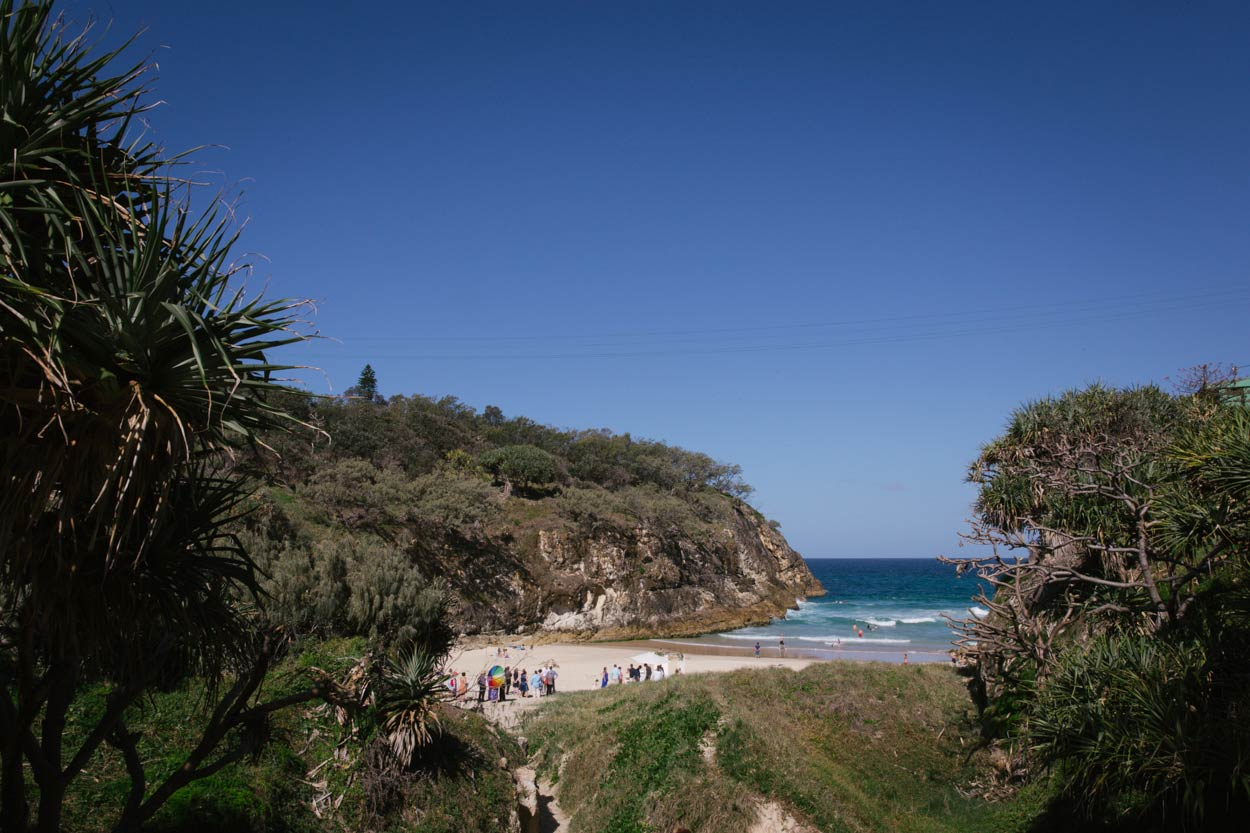 South Gorge, Point Lookout, Stradbroke Island Destination Wedding - Brisbane, Sunshine Coast, Australian
