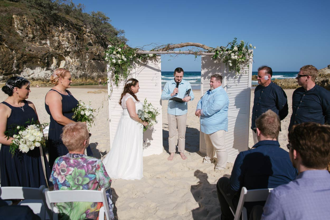 Amazing South Gorge, Stradbroke Island Eco Destination Wedding - Brisbane, Sunshine Coast, Australian