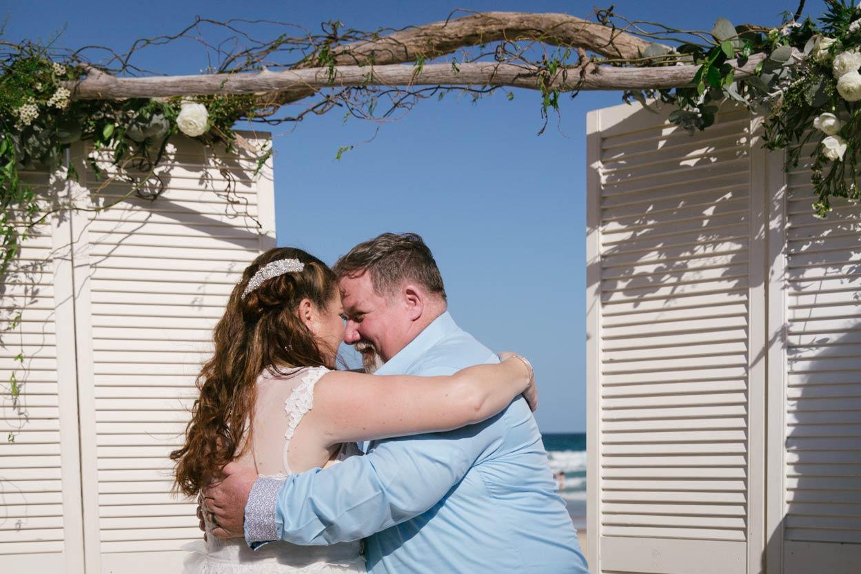 Candid Noosa Heads Beach Wedding - Brisbane, Sunshine Coast, Australian Photographers Destination
