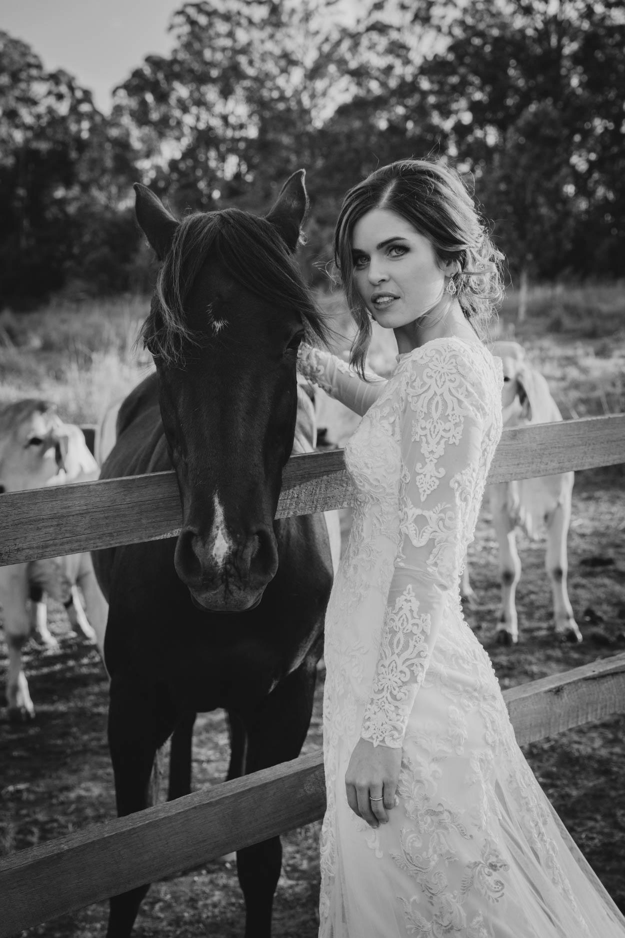 Top Gold Coast Destination Wedding Photographer - Brisbane, Sunshine, Australian Horse Portraits