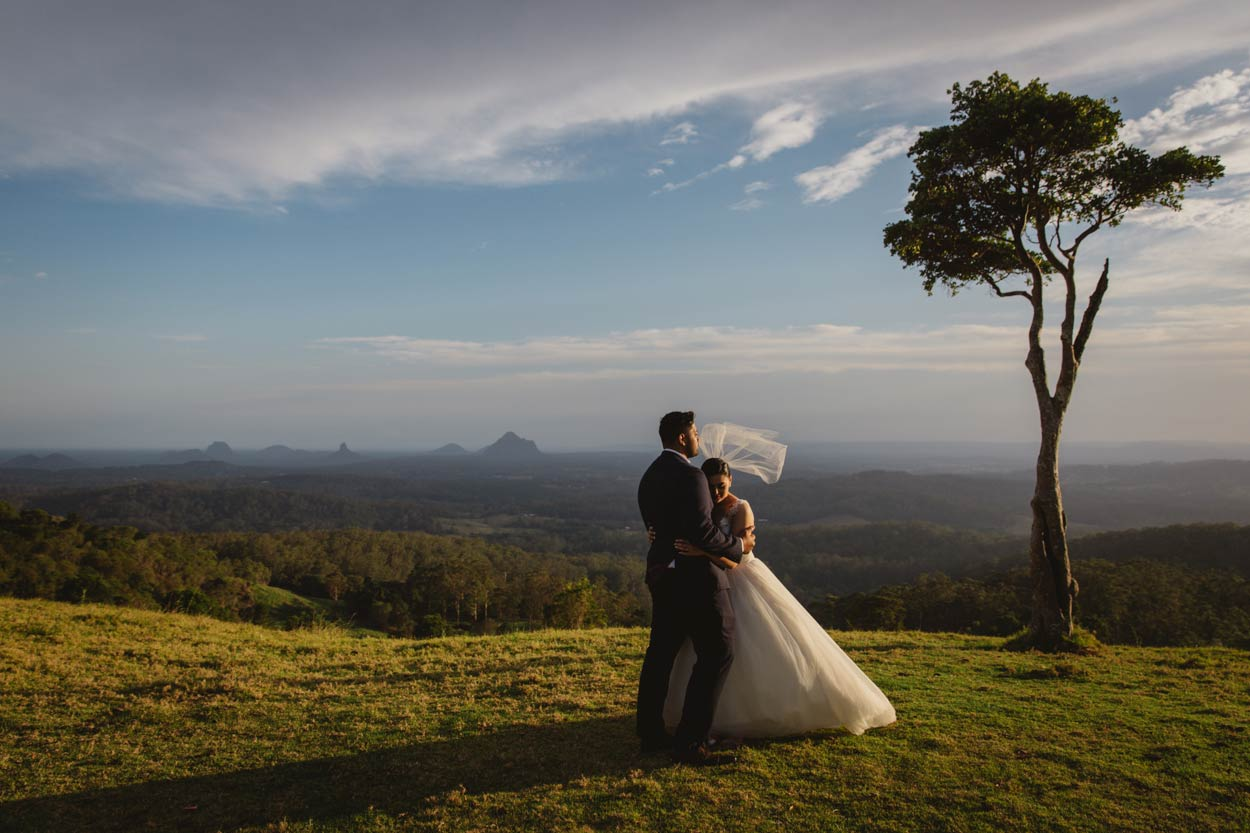 One Tree Hill, Maleny Destination Wedding Photographer - Sunshine Coast, Brisbane, Australian