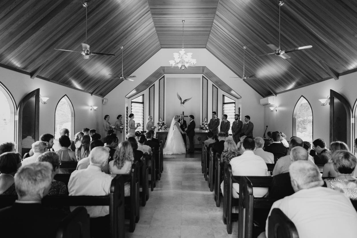 Annabella Chapel Ceremony Wedding, Sunshine Coast - Brisbane, Queensland, Australian Photographer