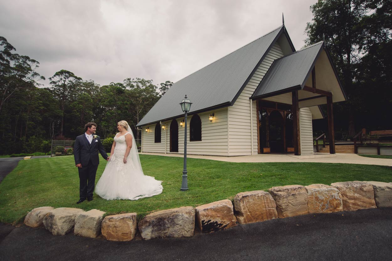 Classic Annabella Chapel Wedding Portraits, Maleny - Brisbane, Sunshine Coast, Australian Photographer