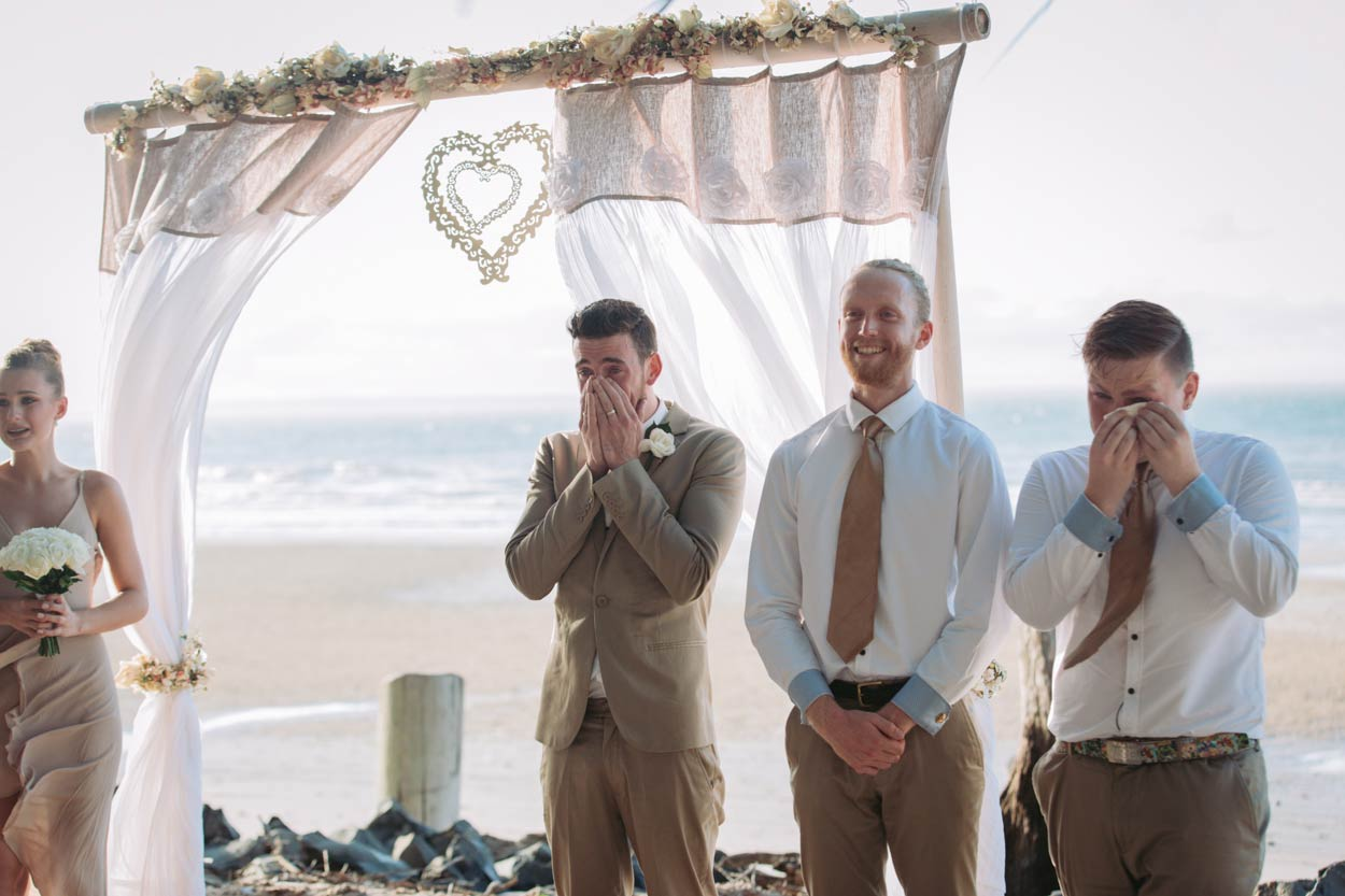 Sunset Beach, Fraser Island Destination Wedding Photographer - Sunshine Coast, Queensland, Australian