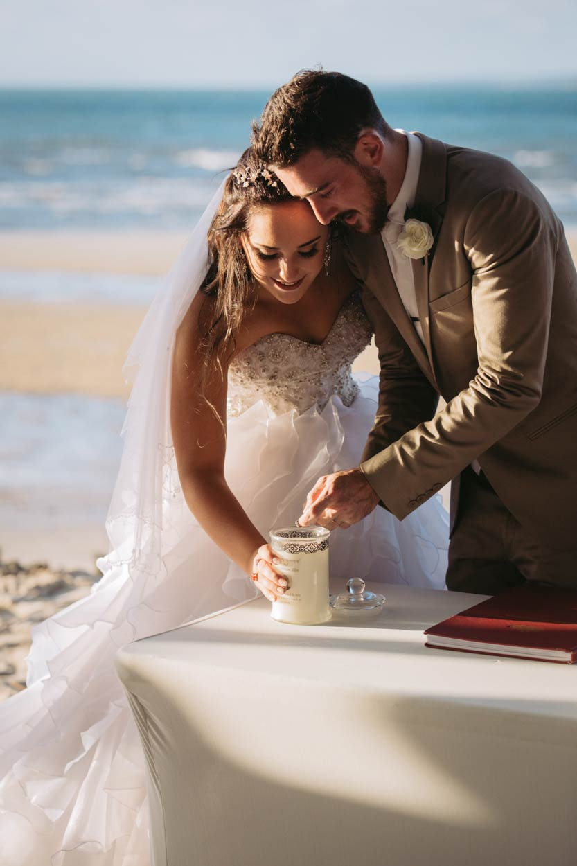 Magic Fraser Island, Kingfisher Bay Destination Wedding Photographer - Brisbane, Sunshine Coast, Australian