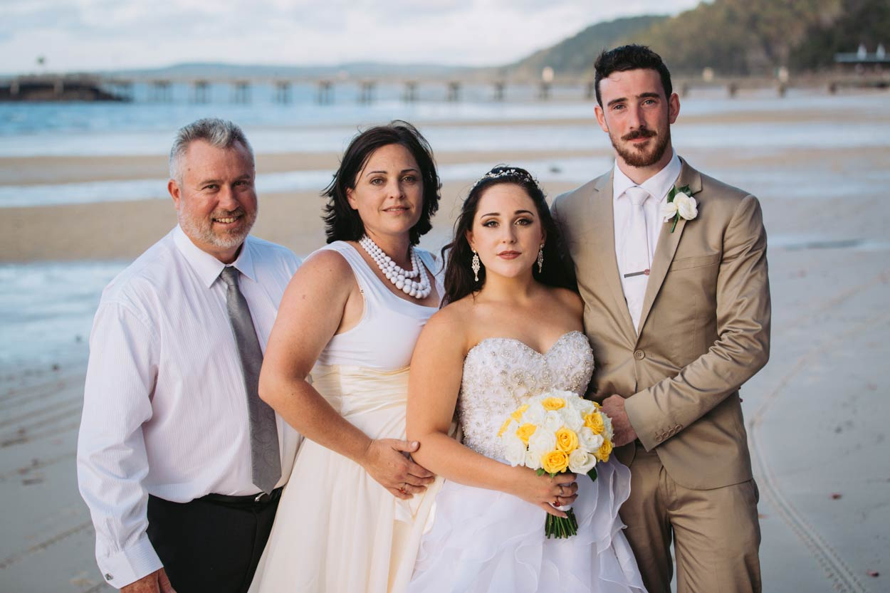 Candid Noosa Beach Destination Wedding Photos - Brisbane, Sunshine Coast, Australian Photographer