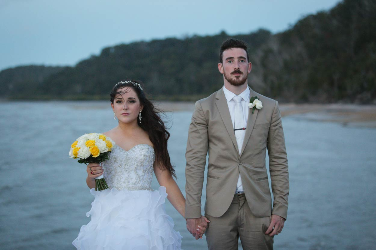 Noosa Pier, Destination Wedding Photographers - Brisbane, Sunshine Coast, Australian